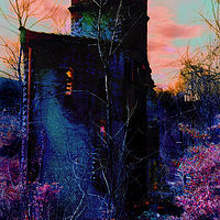 Photography Lost Tower of the Blue KIng by David Neace