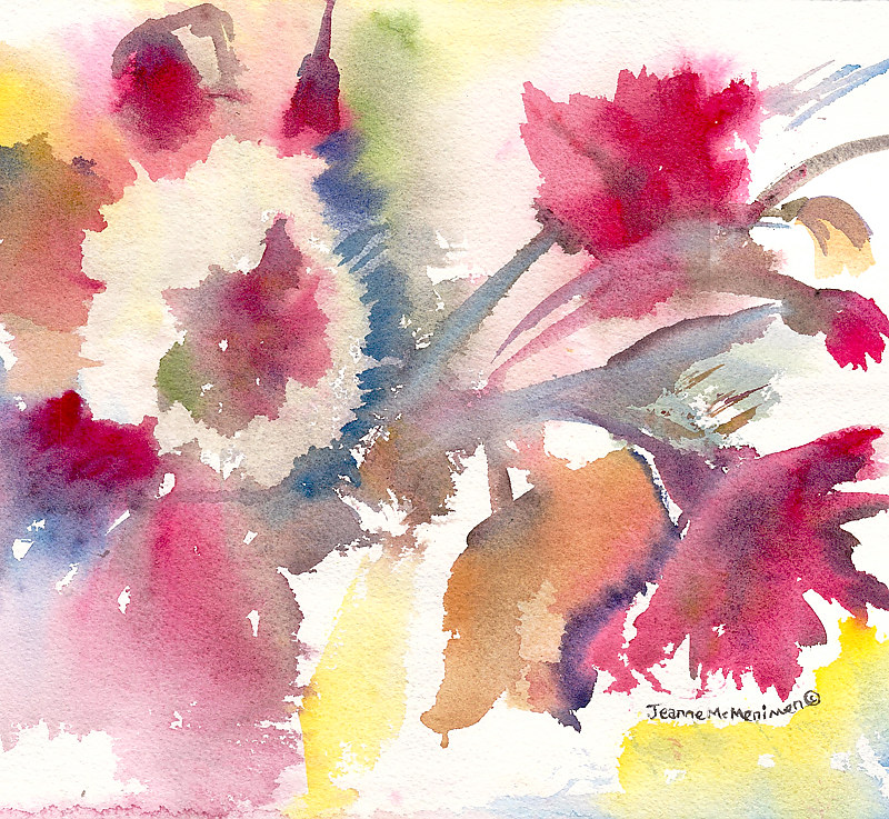 "Print ""Bursting"" by Jeanne McMenimen"