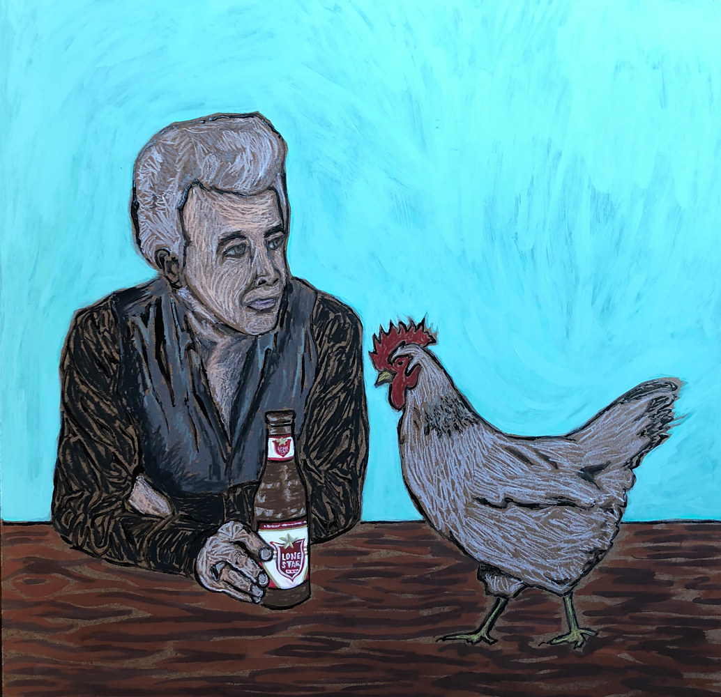 Print Dale Watson by Kelly Schafer