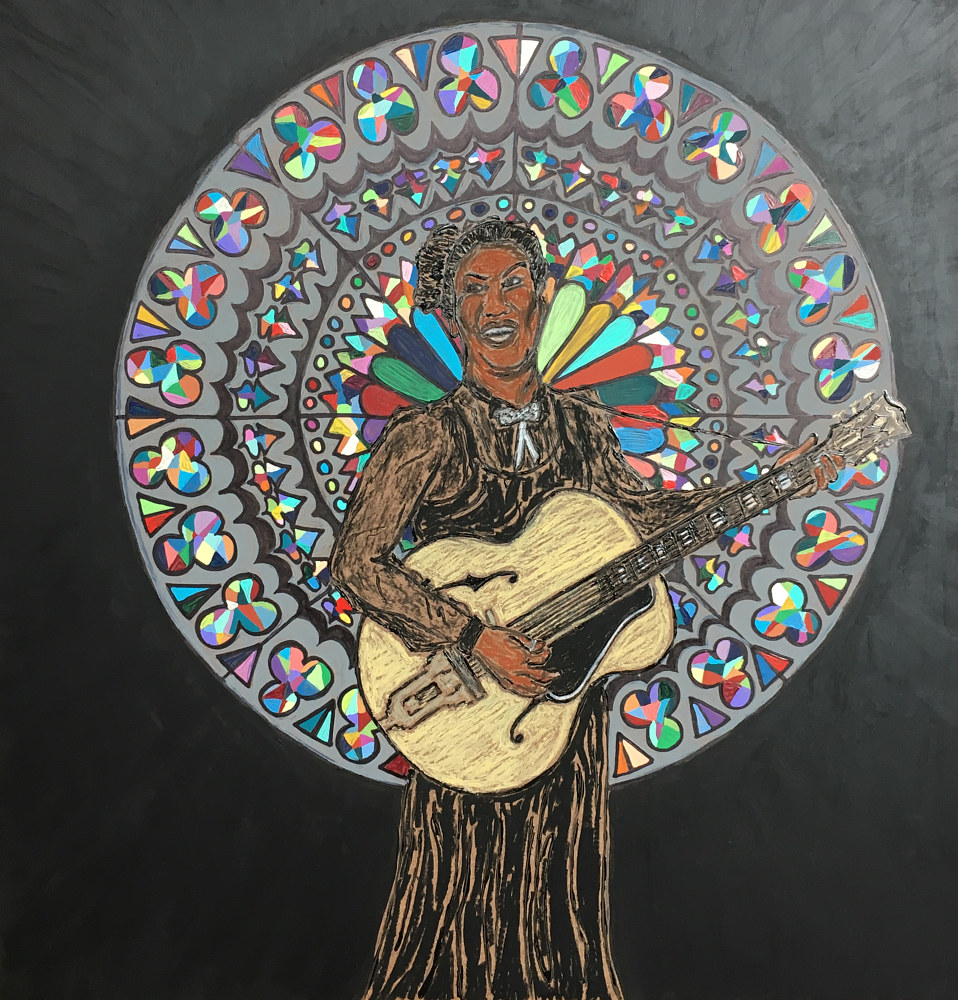 Print Rosetta Tharpe by Kelly Schafer
