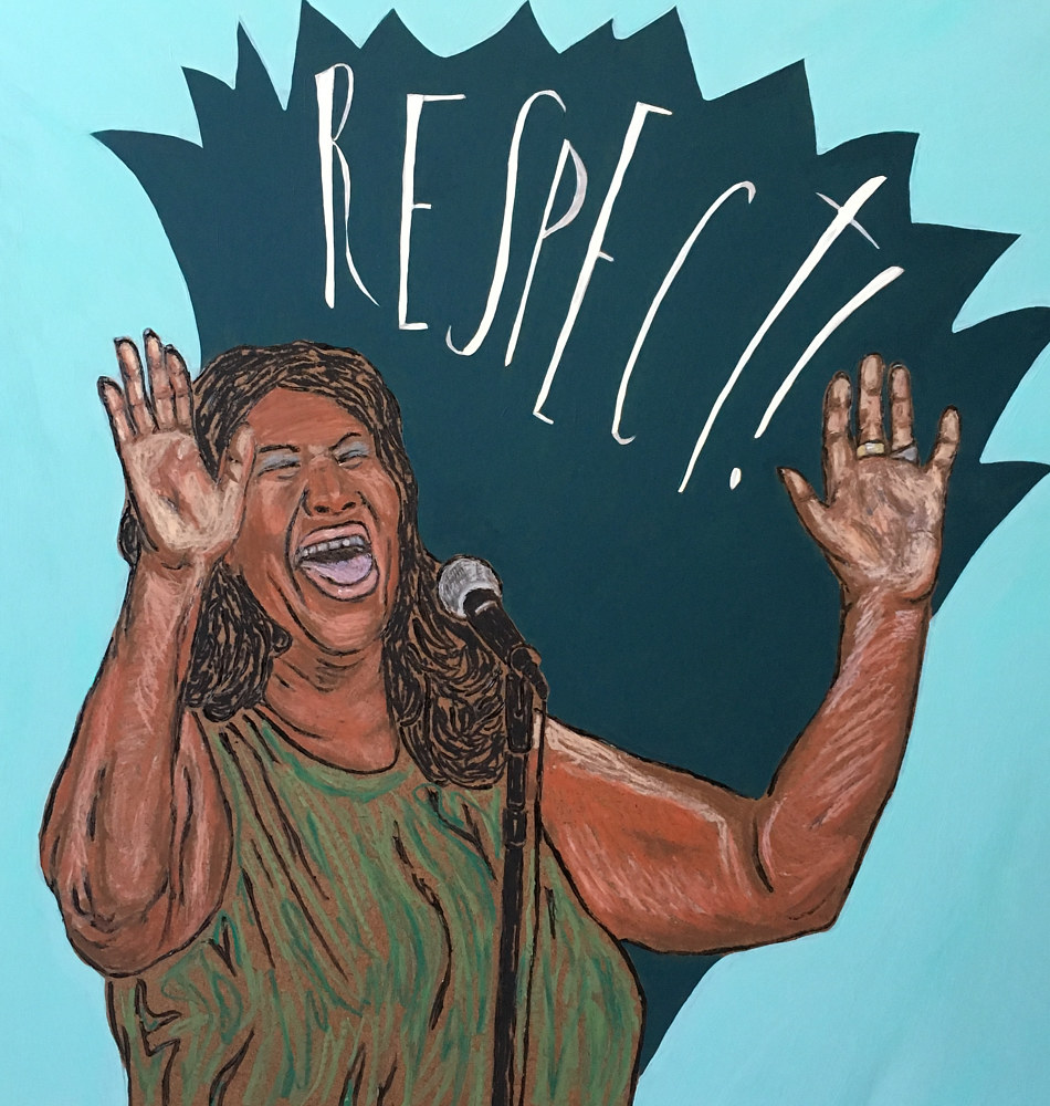 Aretha by Kelly Schafer