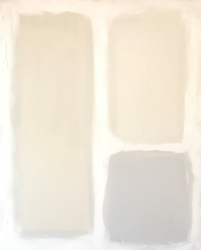Acrylic painting Color Study: Neutrals II by Sarah Trundle