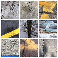 Print Sidewalk Sonata #2 ________(click on the i for info) by Edward Bock