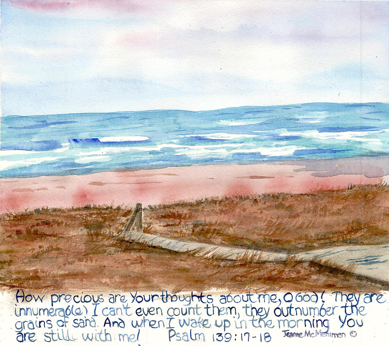 "Print ""Outnumber the Grains of Sand"" by Jeanne McMenimen"