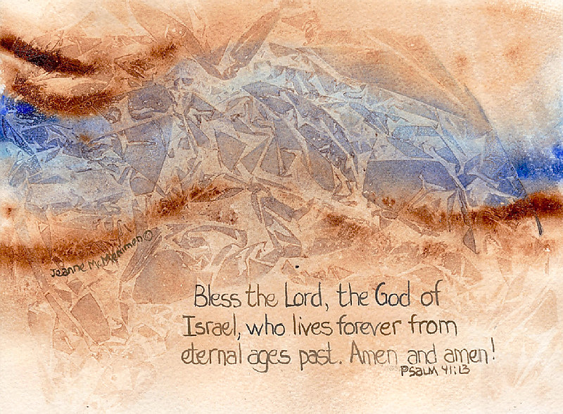 "Print ""Bless the Lord"" by Jeanne McMenimen"