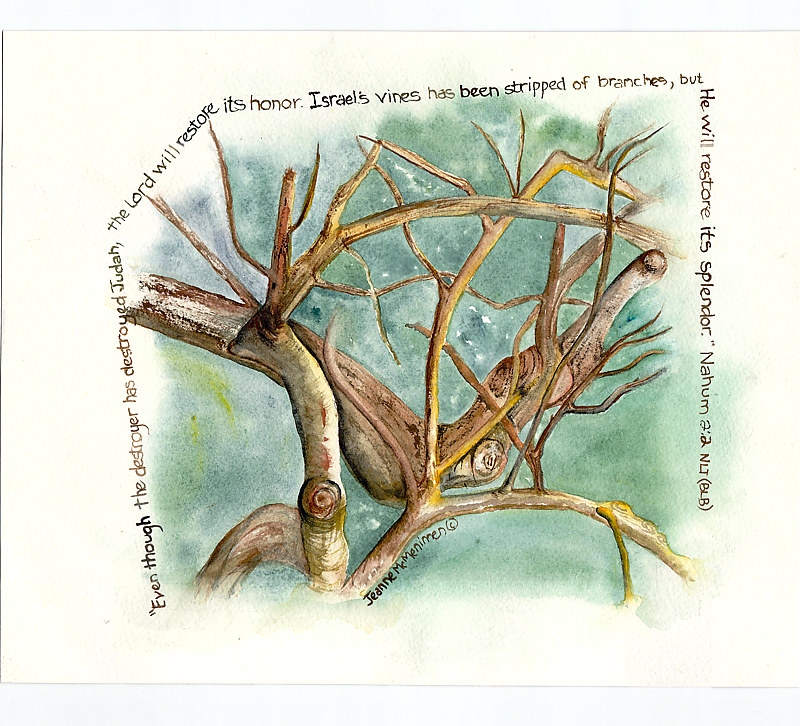 "Print ""Even Though"" by Jeanne Mcmenimen"
