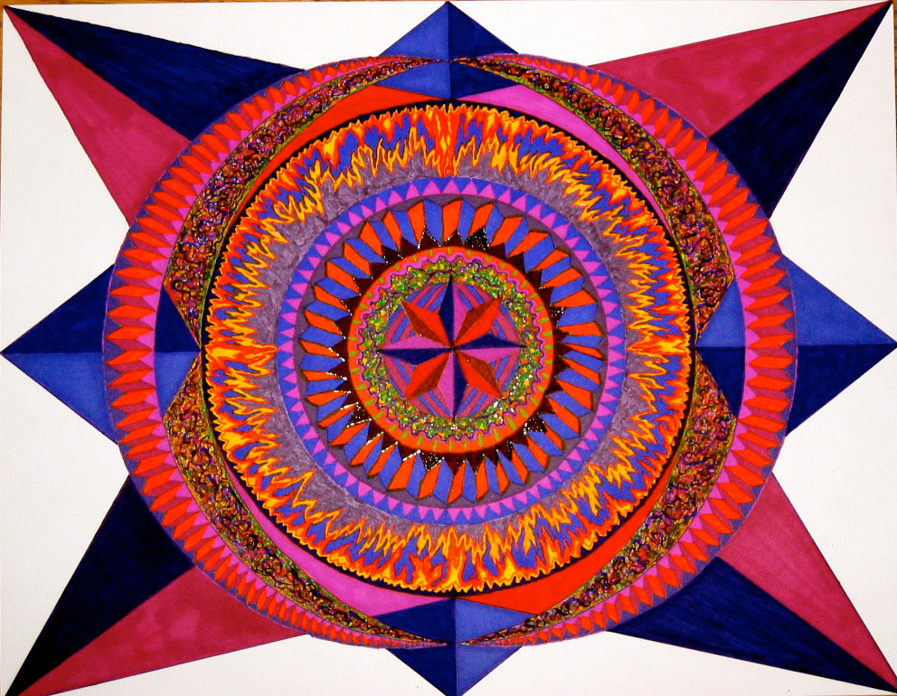 mandala-for-carolyn by John Clinock