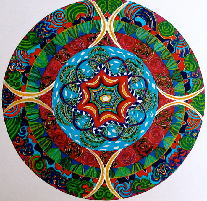 mandala-for-george by John Clinock