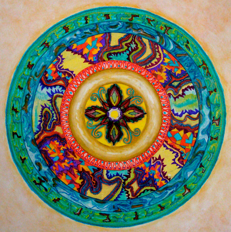 mandala-for-jana by John Clinock