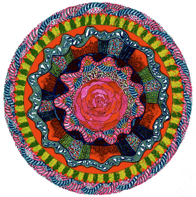 mandala-for-rosa by John Clinock