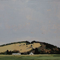 Acrylic painting Richardson's Hill, May 1 by Harry Stooshinoff