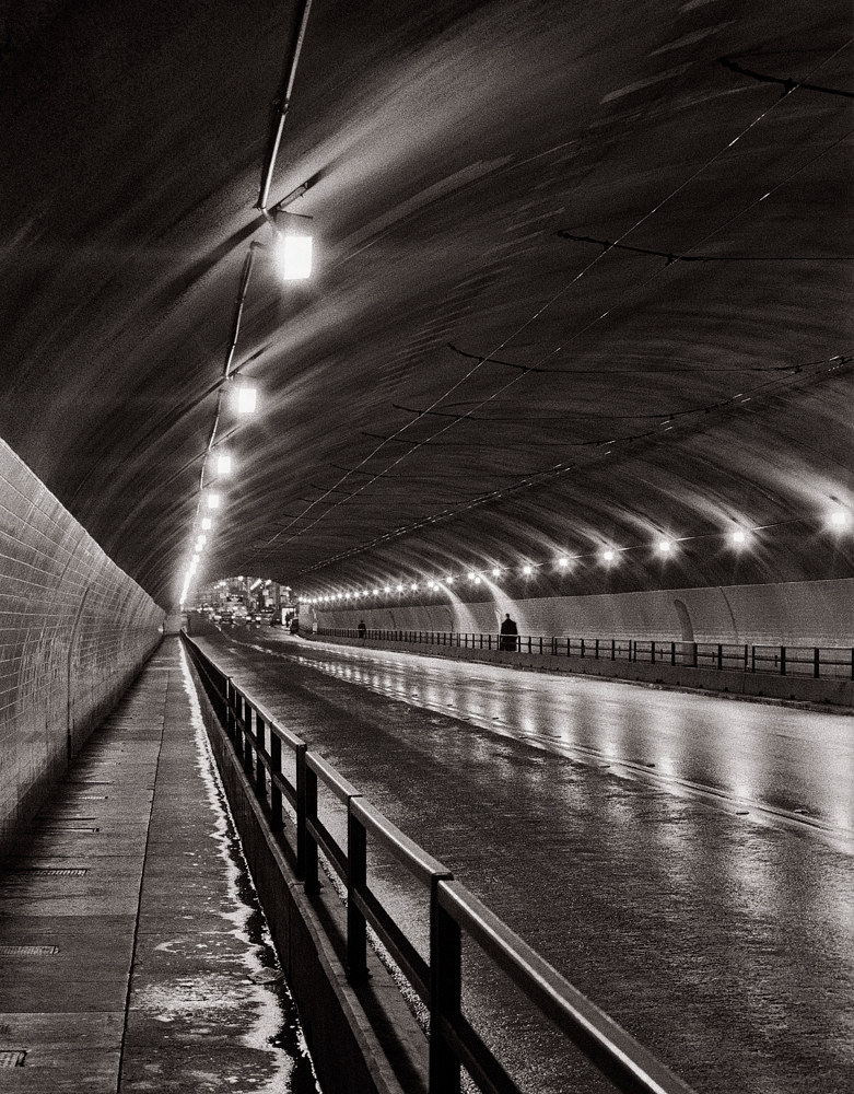 TUNNEL WALK by Dan Mcgarrah