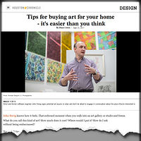 Drawing 2017-06-23 Houston Chronicle Tips for buying art for your home by John Hovig