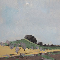Acrylic painting 10 Saved Acres, May 8 by Harry Stooshinoff
