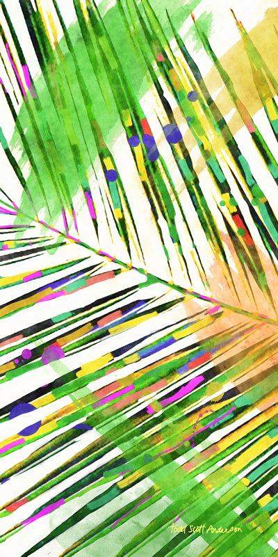 Print PALM 32 T by Todd Scott Anderson