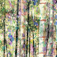 Print BAMBOO 3 T by Todd Scott Anderson
