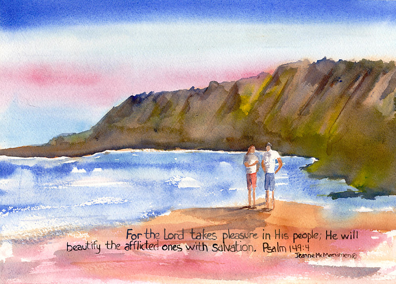 "Print ""For the Lord"" by Jeanne McMenimen"