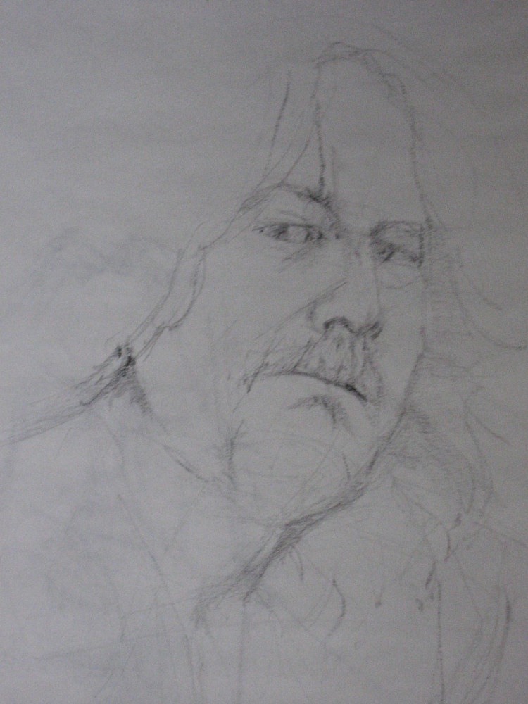 Drawing Steve by Judith  Elsasser