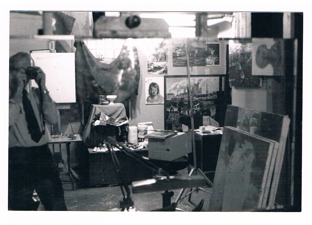 Old Studio in Basement, Tacoma AA by Josef-Peter  Roemer