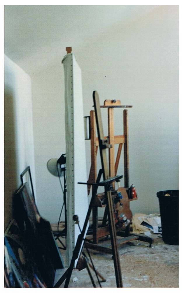 Studio Easel area by Josef-Peter  Roemer