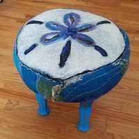 Sandollar stool by Valerie Johnson