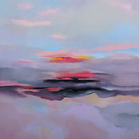 Oil painting Silky Clouds by Svetlana Barker