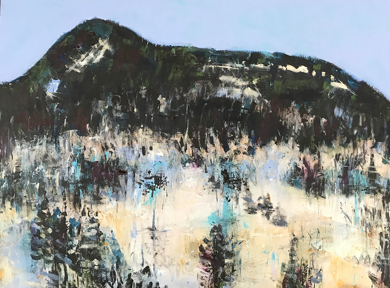 Oil painting Sugarloaf, 2018  by Edith dora Rey