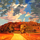 Oil painting Watagan Creek Road  by Guntis Jansons