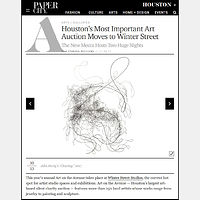 Drawing 2017-11-06 PaperCity Houston's Most Important Art Auction Moves to Winter Street by John Hovig