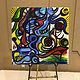 Acrylic painting finished live painting-benefiting CAP by Ann Marie  Vancas