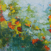 Garden_60x36 by Adam Thomas