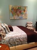 Guest house bedroom, Dallas TX by Catron Wallace