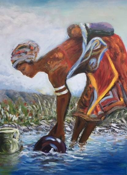 Mothers carry the load of their villages  by Dianne  Cuzner
