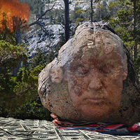 OUT FROM UNDER TRUMP'S ROCK by Joeann Edmonds-Matthew