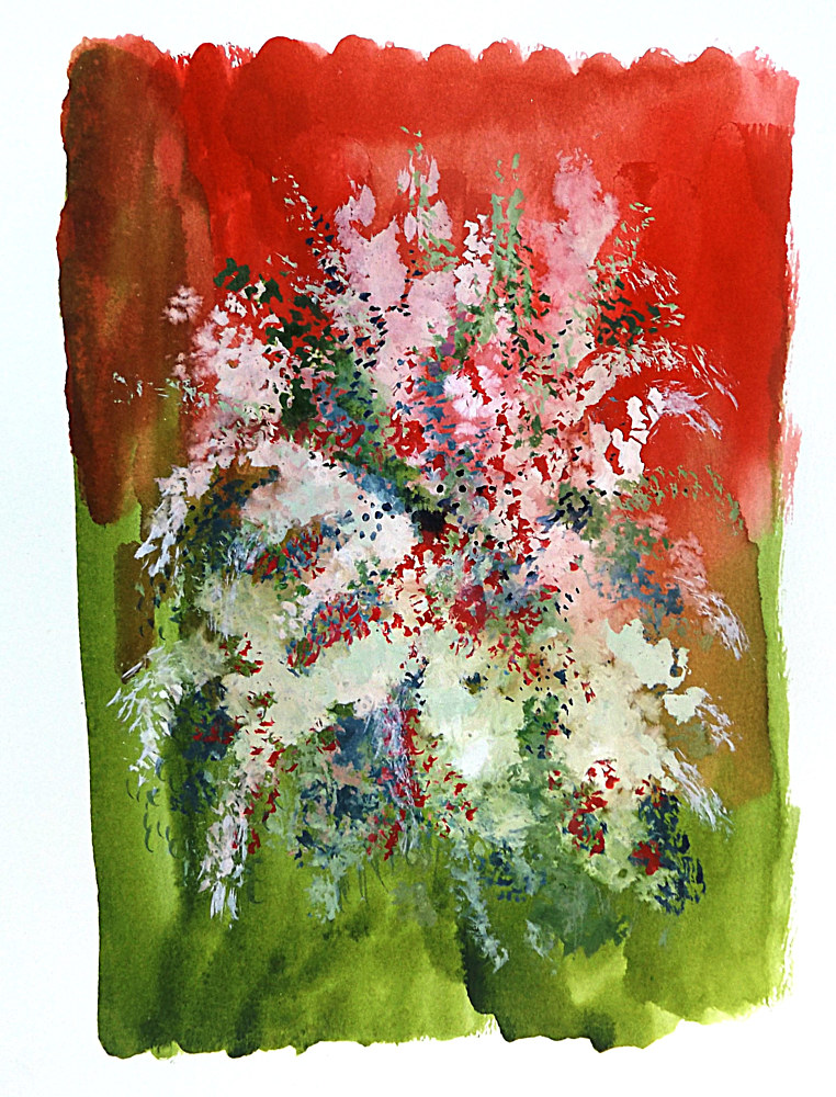 Drawing Floral 19 by David Neace