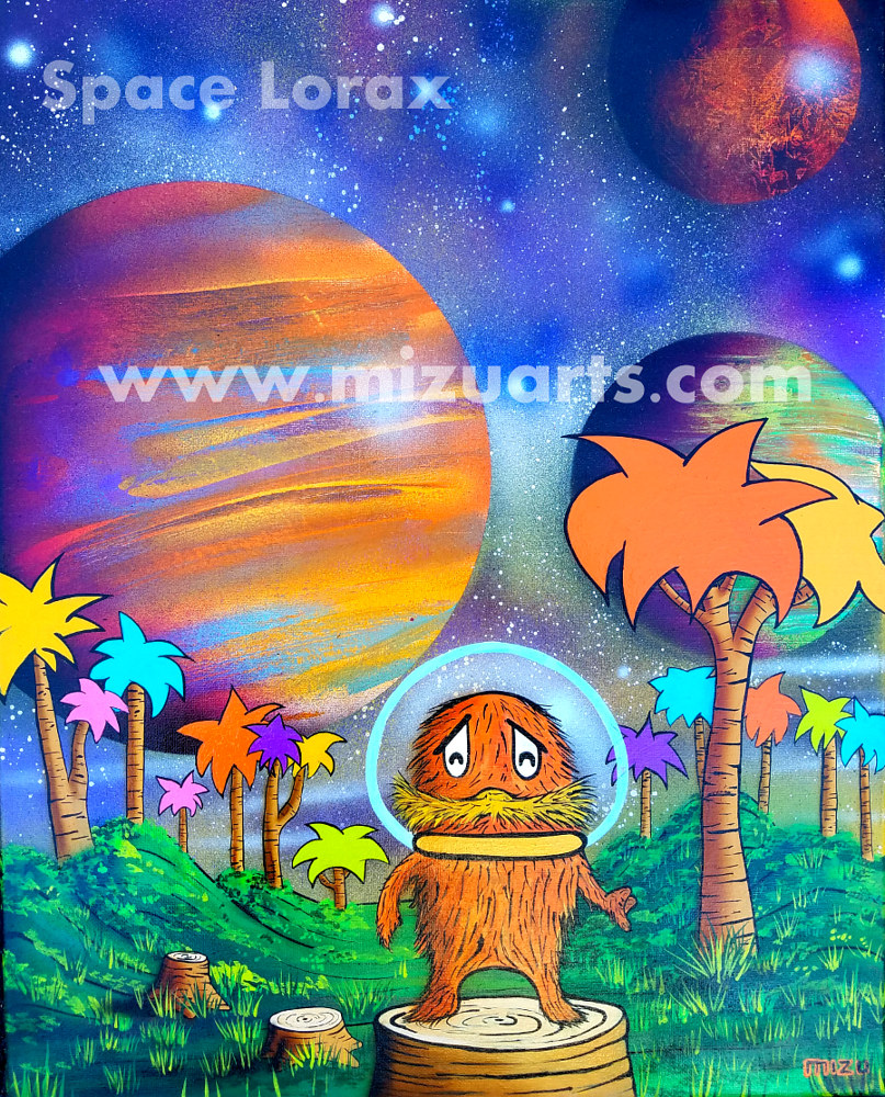 Space Lorax  by Isaac Carpenter