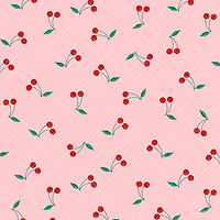 Cherry Pattern by Valerie Lesiak