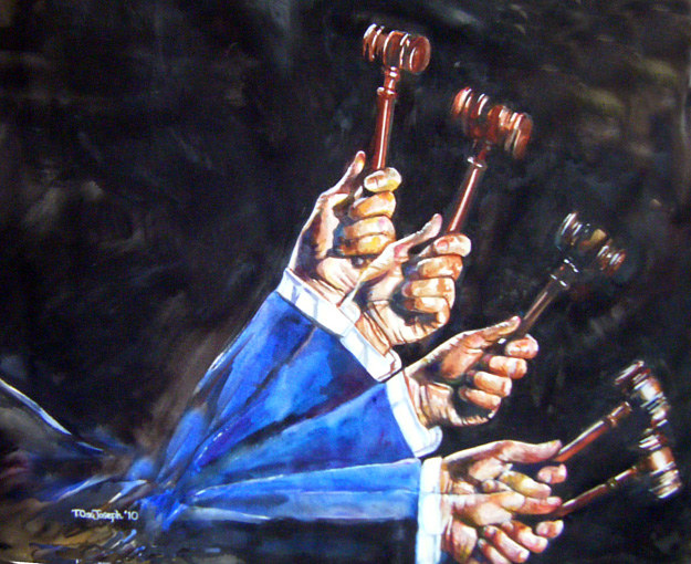Judge Gavel by Terry Joseph