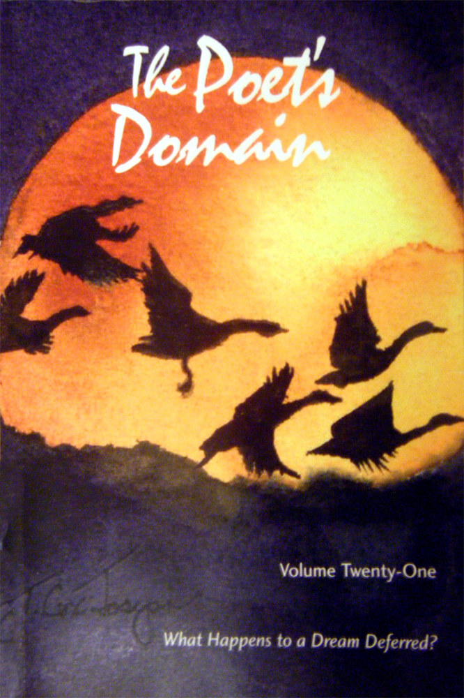 Poets Domain Cover Moon-Geese by Terry Cox-Joseph