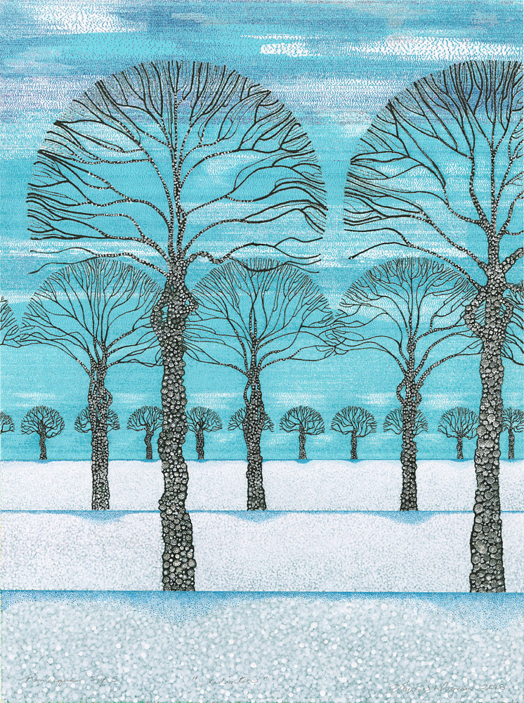 Print Winter by Lawrie  Dignan