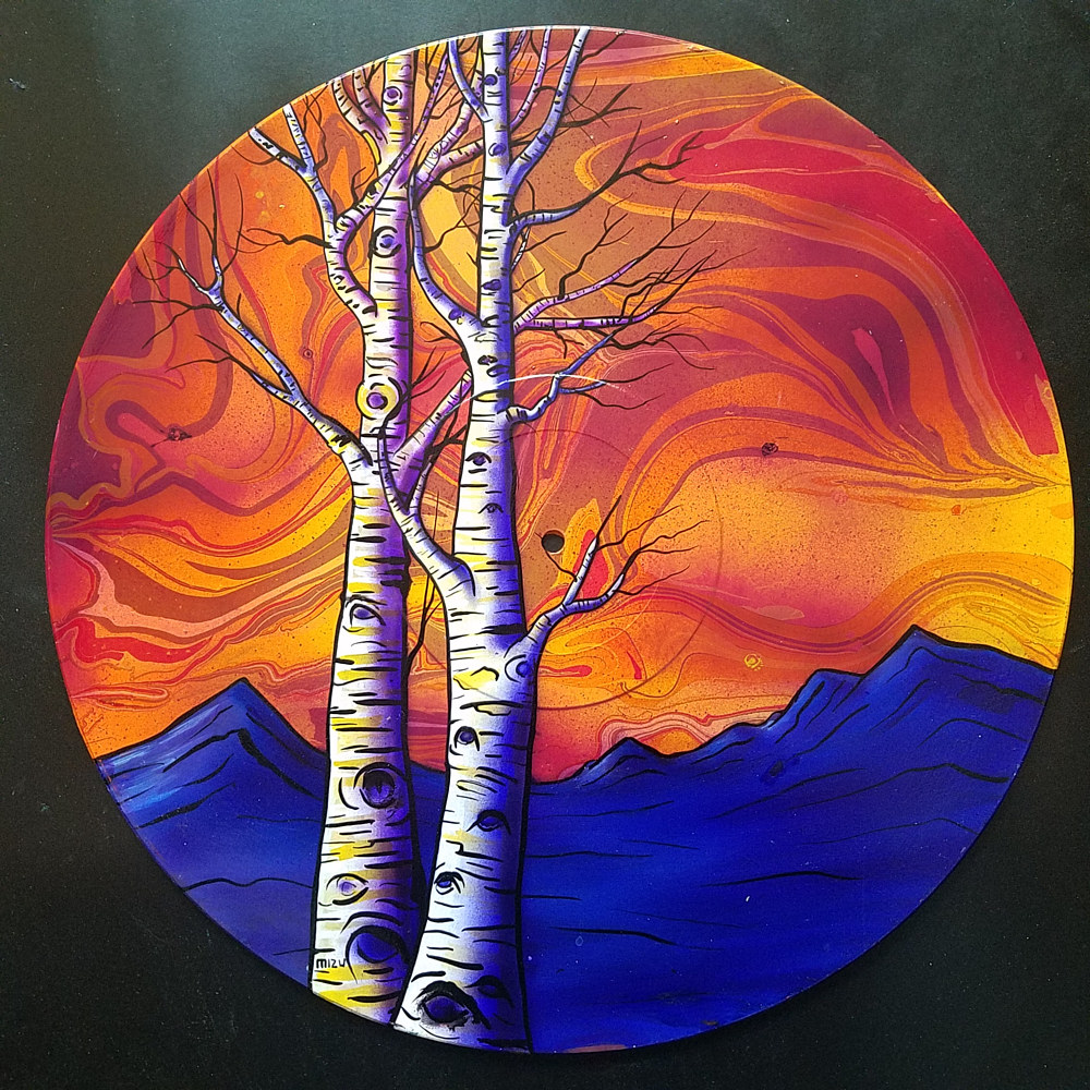Painting Aspen Landscape  by Isaac Carpenter