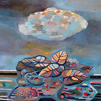 Oil painting Summer Cloud by Julie Gladstone