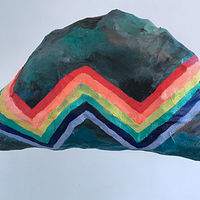 Zig Zag Rainbow by Julie Gladstone