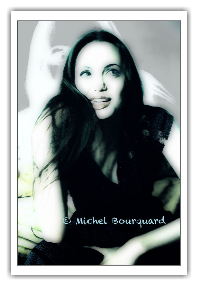 Angelina Jolie in private session by Michel Bourquard