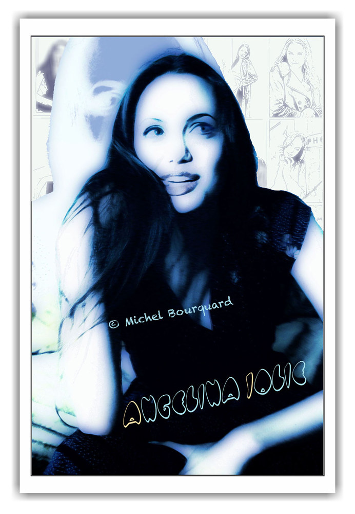 Angelina Jolie in private session - with multiple others images by Michel Bourquard