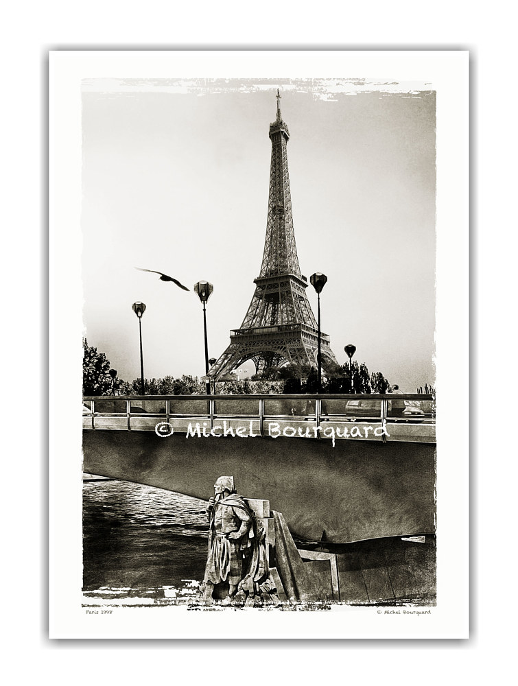 Eiffel and the Zouave_ by Michel Bourquard