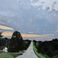 Acrylic painting Home Bound by Harry Stooshinoff