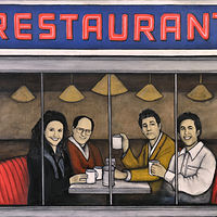 Painting SEINFELD by Carly Jaye Smith