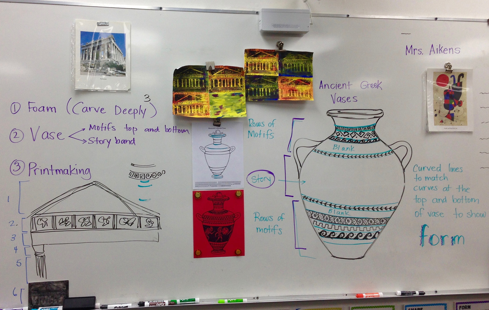 Teaching Ancient Greek Art to 2nd Graders by Linnie (Victoria) Aikens Lindsay