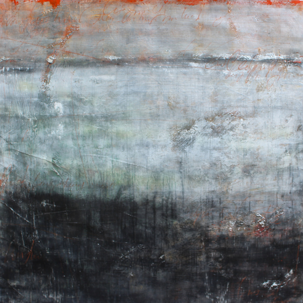 Acrylic painting The Mist II by Laura Spring